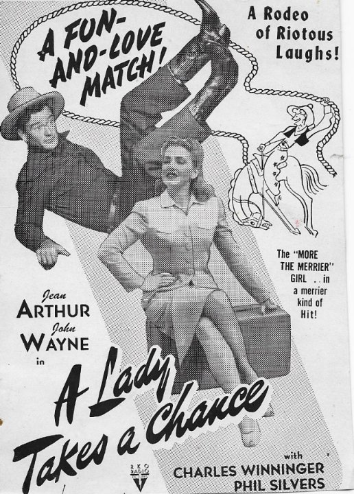 A Lady Takes a Chance Movie Poster