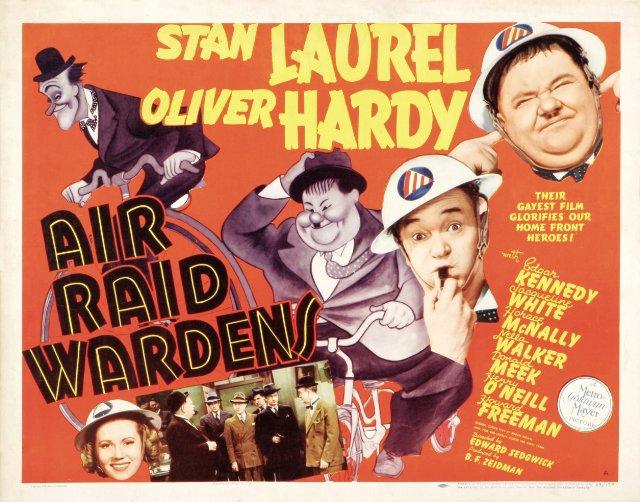 Air Raid Wardens Movie Poster