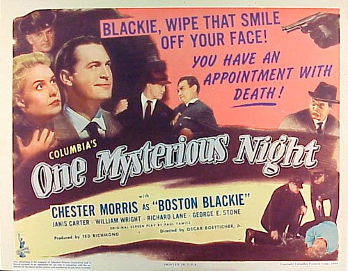 One Mysterious Night Movie Poster