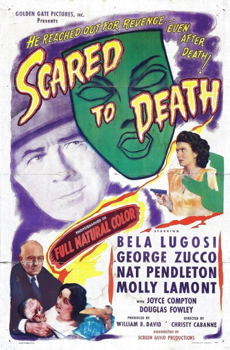 Scared to Death Movie Poster