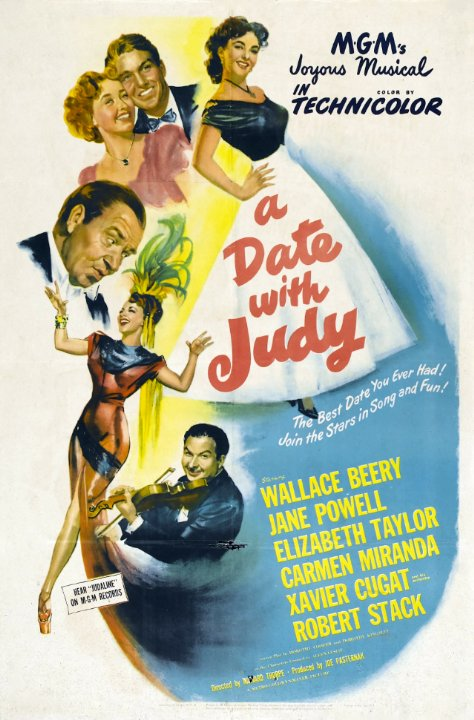 A Date with Judy Movie Poster