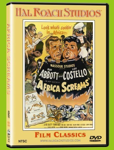 Africa Screams Movie Poster