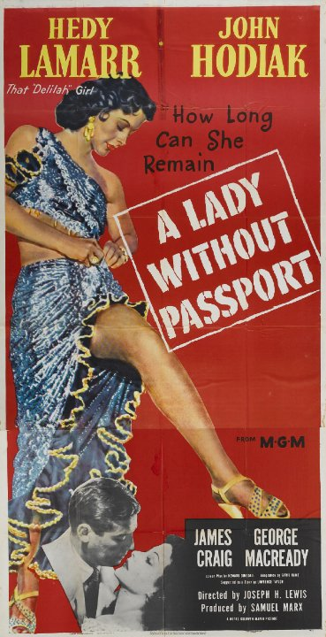 A Lady Without Passport Movie Poster