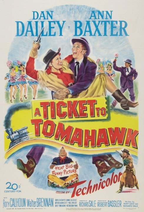 A Ticket to Tomahawk Movie Poster