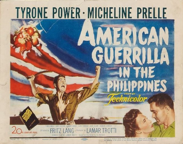 American Guerrilla in the Philippines Movie Poster