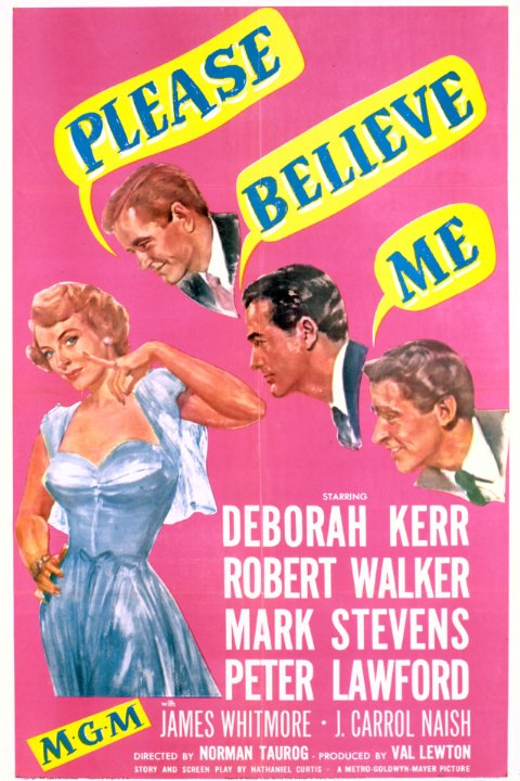 Please Believe Me Movie Poster
