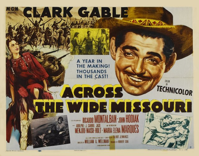 Across the Wide Missouri Movie Poster