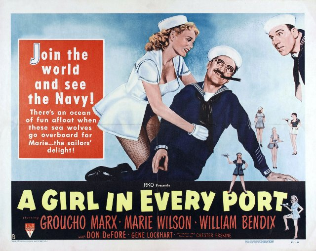 A Girl in Every Port Movie Poster