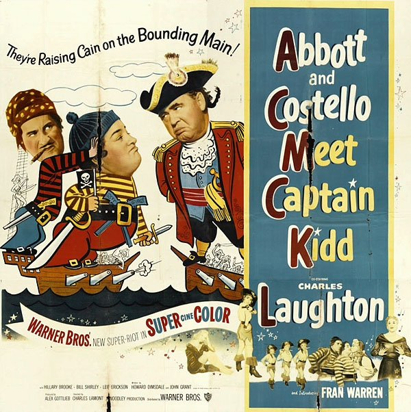 Abbott and Costello Meet Captain Kidd Movie Poster