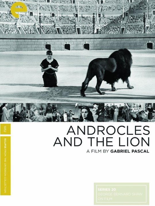 Androcles and the Lion Movie Poster