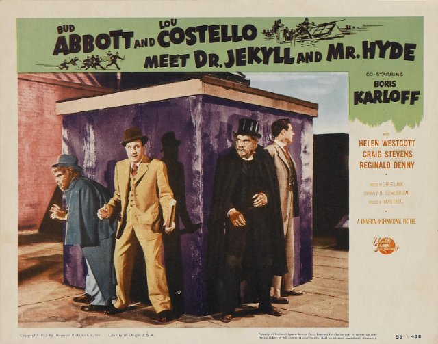Abbott and Costello Meet Dr. Jekyll and Mr. Hyde Movie Poster