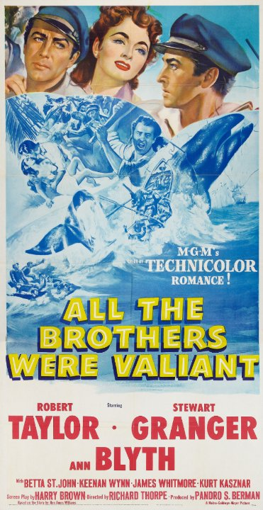 All the Brothers Were Valiant Movie Poster