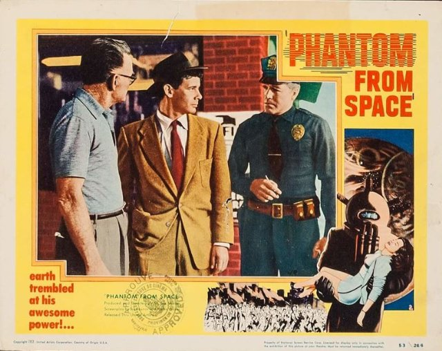 Phantom from Space Movie Poster