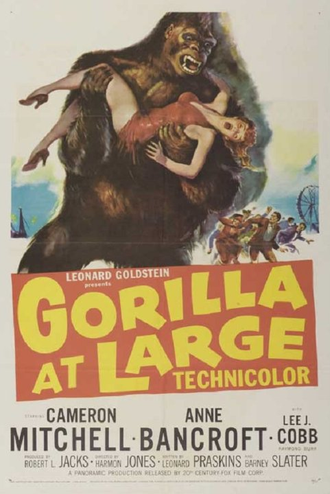 Gorilla at Large Movie Poster