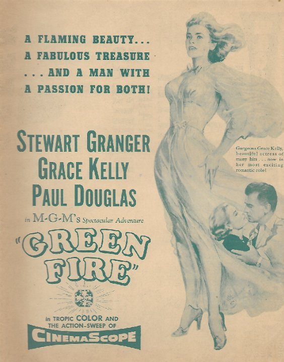 Green Fire Movie Poster