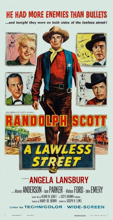 A Lawless Street Movie Poster