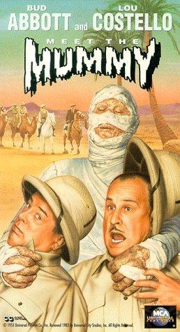 Abbott and Costello Meet the Mummy Movie Poster