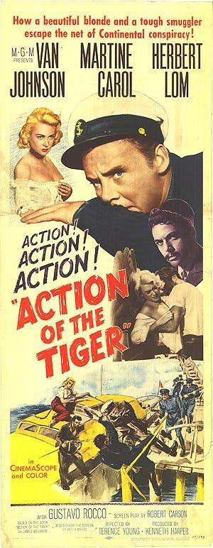 Action of the Tiger Movie Poster