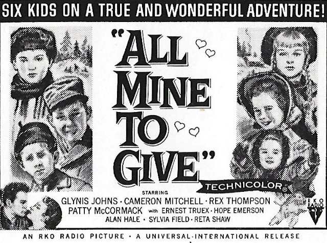 All Mine to Give Movie Poster
