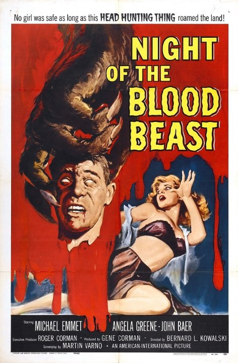 Night of the Blood Beast Movie Poster