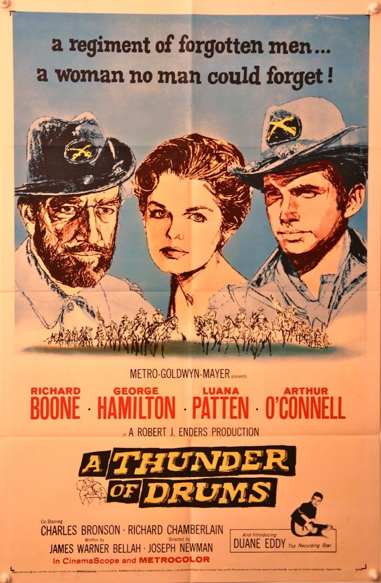 A Thunder of Drums Movie Poster