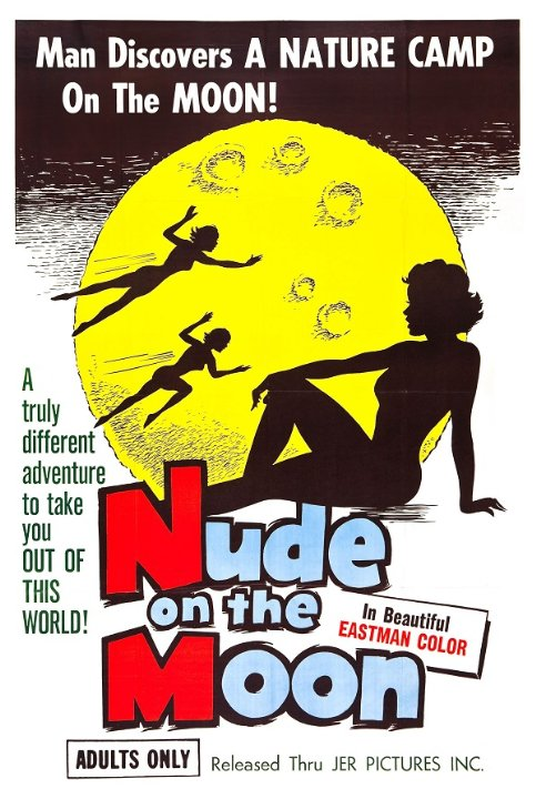 Nude on the Moon Movie Poster