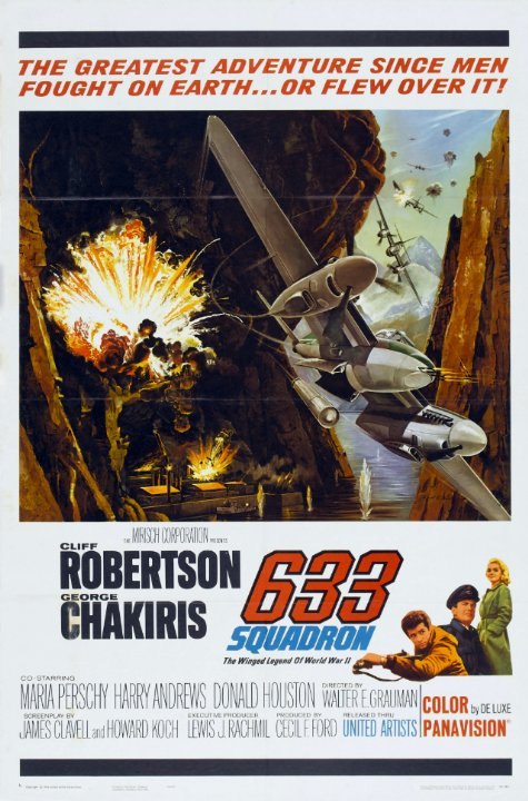 633 Squadron Movie Poster