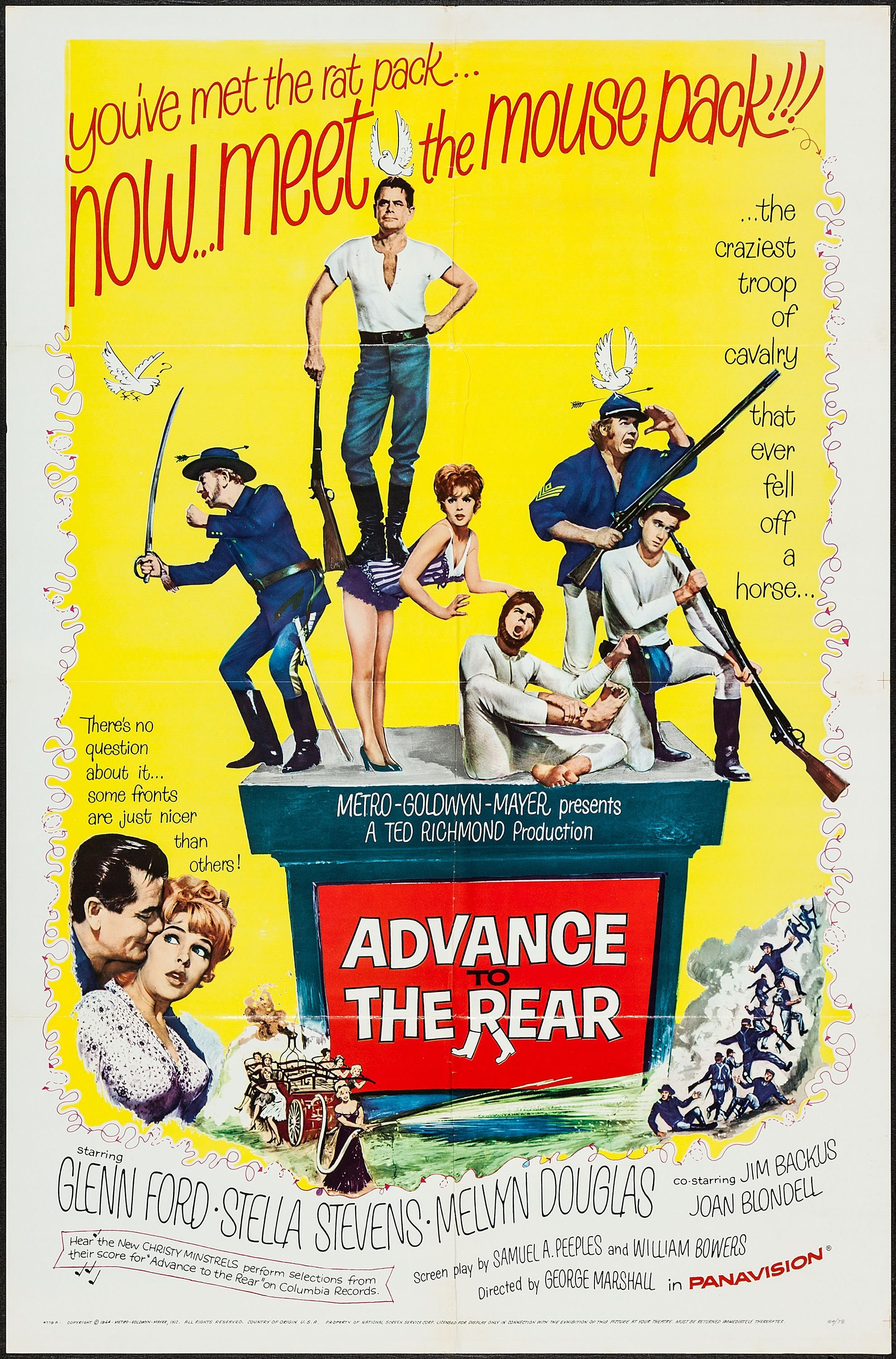 Advance to the Rear Movie Poster