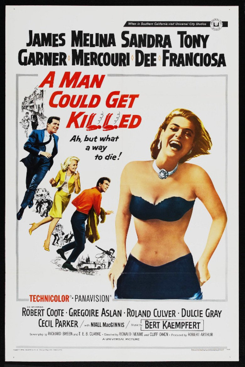 A Man Could Get Killed Movie Poster