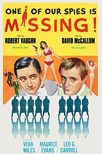 One of Our Spies Is Missing Movie Poster