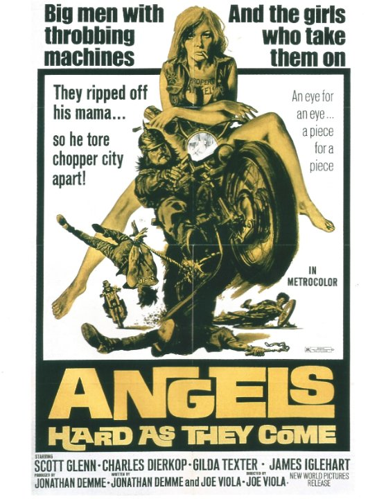 Angels Hard as They Come Movie Poster