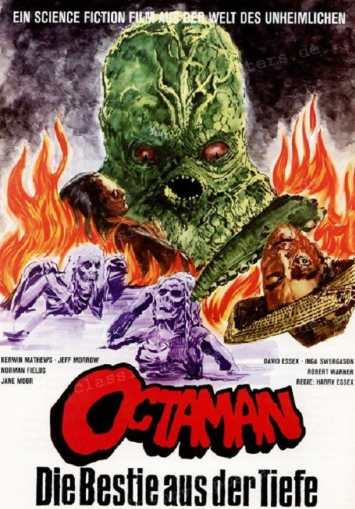 Octaman Movie Poster