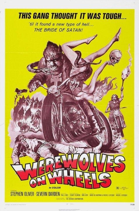 Werewolves on Wheels Movie Poster