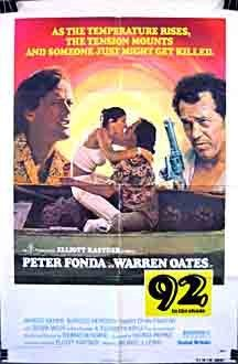 92 in the Shade Movie Poster