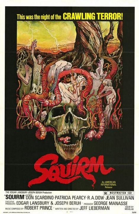 Squirm Movie Poster