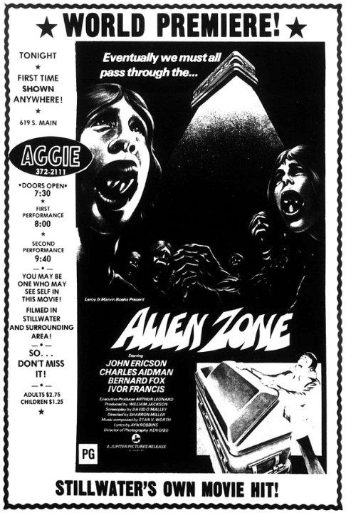 Alien Zone Movie Poster
