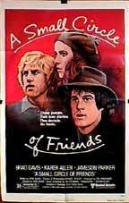 A Small Circle of Friends Movie Poster