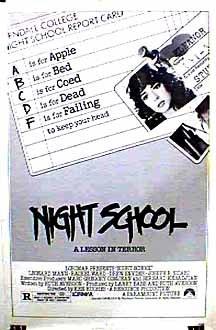 Night School Movie Poster