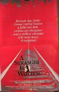 A Stranger Is Watching Movie Poster