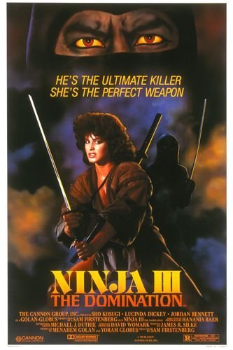 Ninja III: The Domination Movie Poster