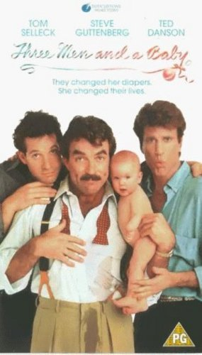 3 Men and a Baby Movie Poster
