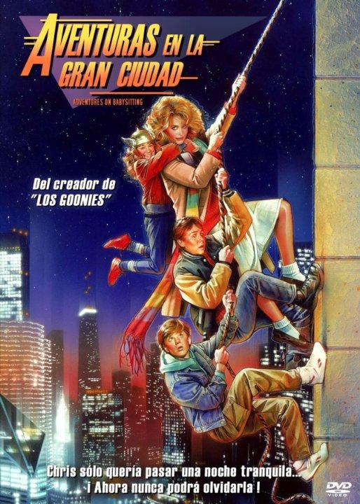 Adventures in Babysitting Movie Poster