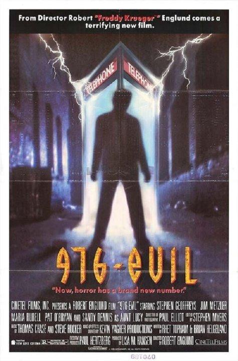976-EVIL Movie Poster