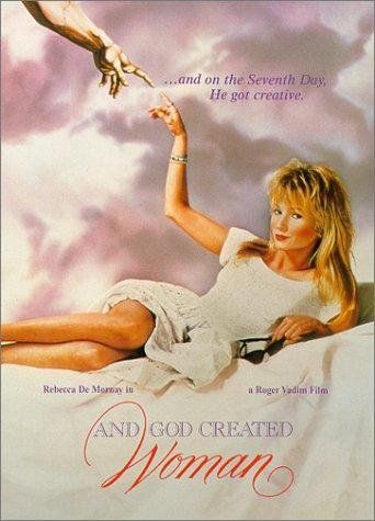 And God Created Woman Movie Poster