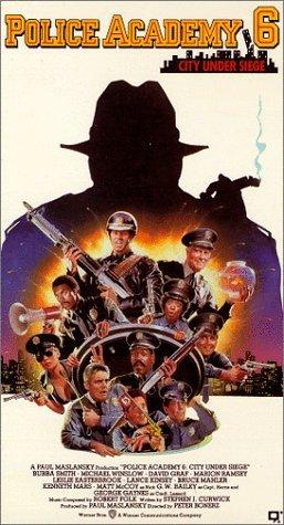 Police Academy 6: City Under Siege Movie Poster
