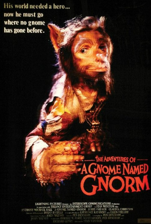 A Gnome Named Gnorm Movie Poster