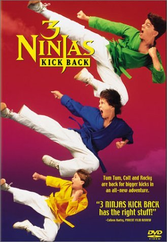 3 Ninjas Kick Back Movie Poster