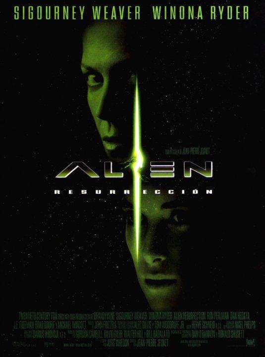 Alien: Resurrection Movie Poster