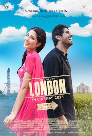 7 Welcome to London Movie Poster