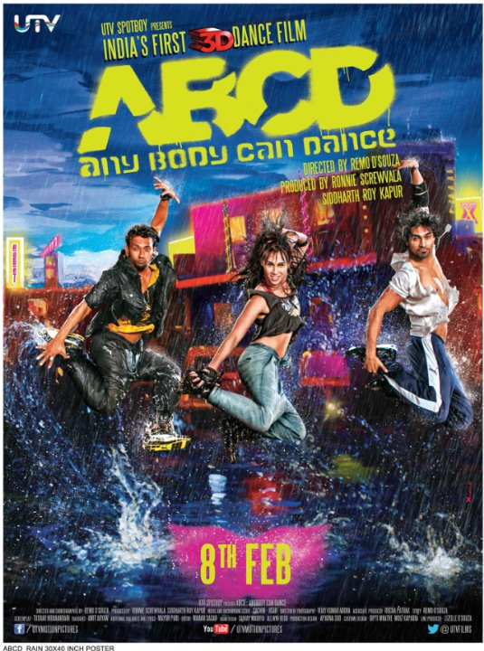 ABCD: Any Body Can Dance Movie Poster